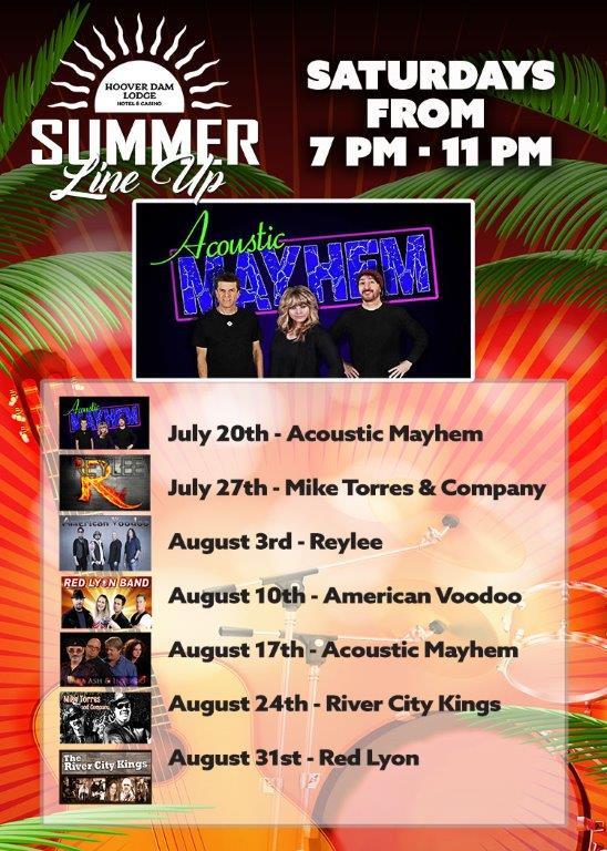 July-20 Hoover Dam Lodge Boulder City, NV