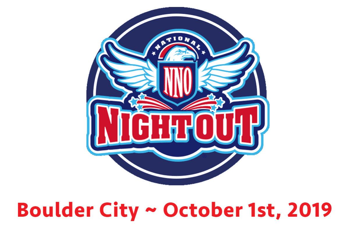 National Night Out Moves October Boulder City, NV