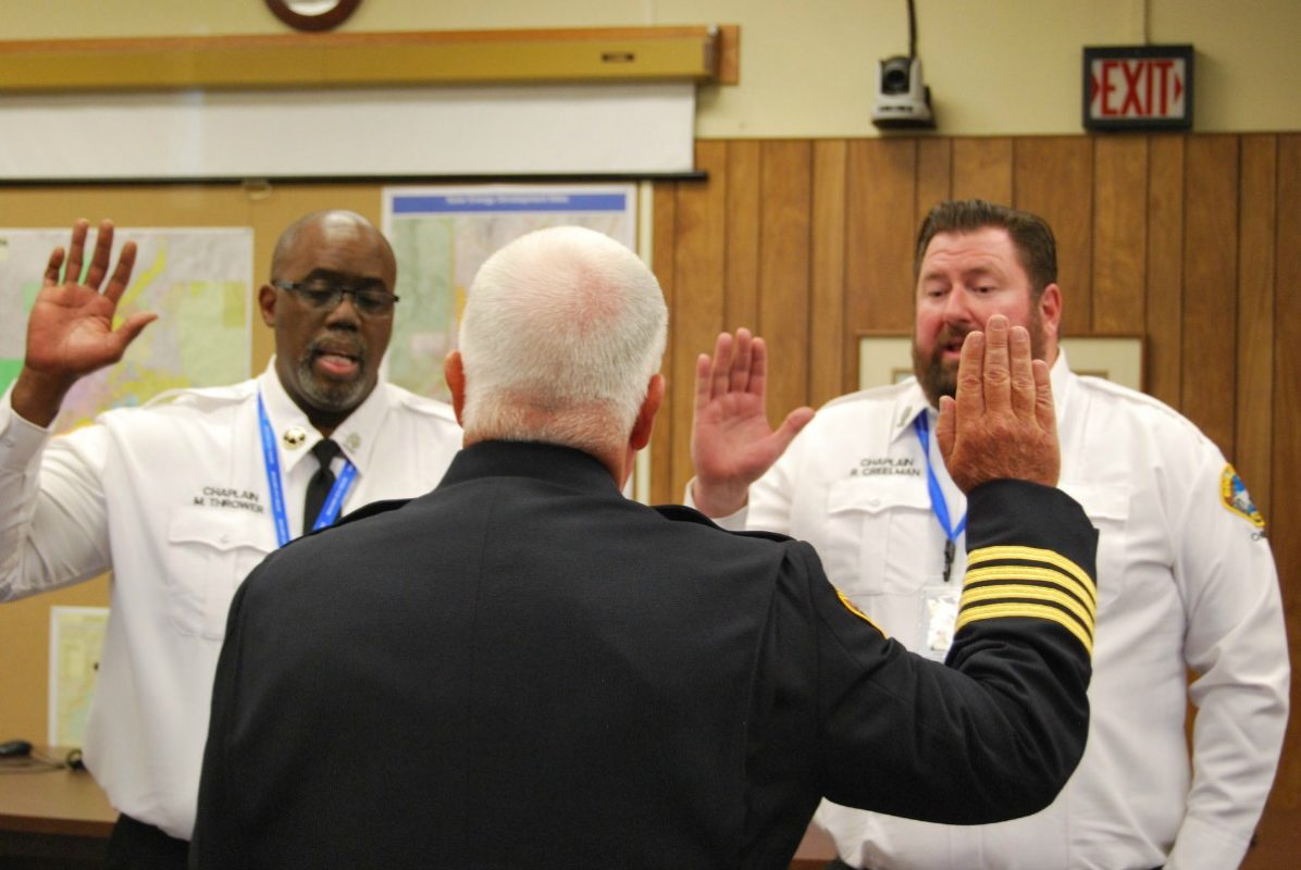 Two New Officers Sworn In Boulder City, NV