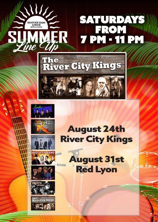 August-24 Hoover Dam Lodge Boulder City, NV