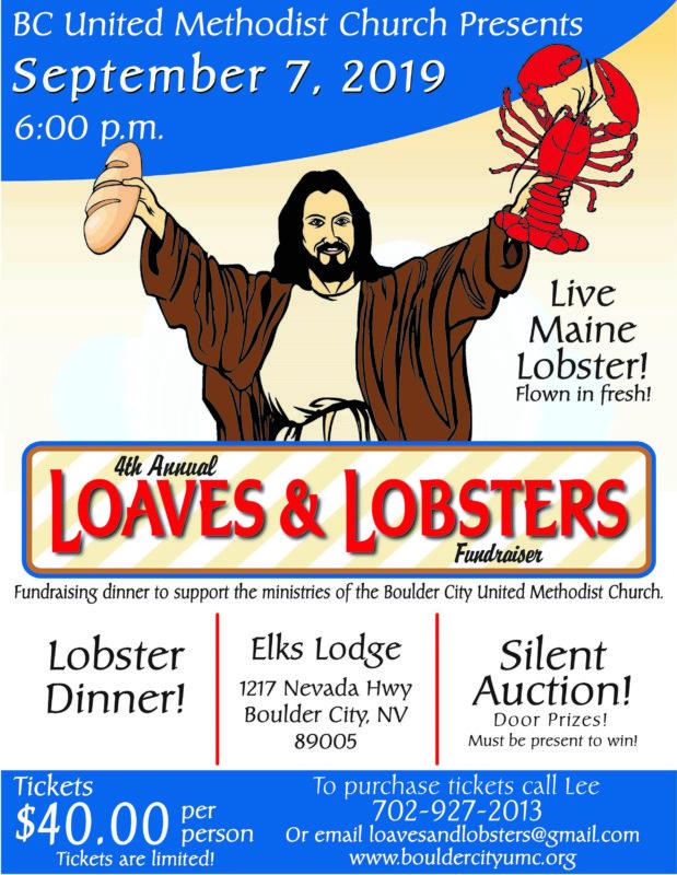 United Methodist Lobsters Boulder City, NV