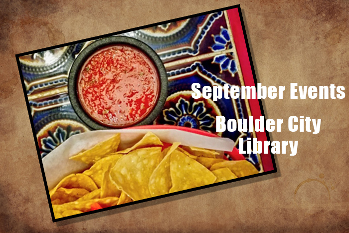 September Events Library Boulder City, Nevada