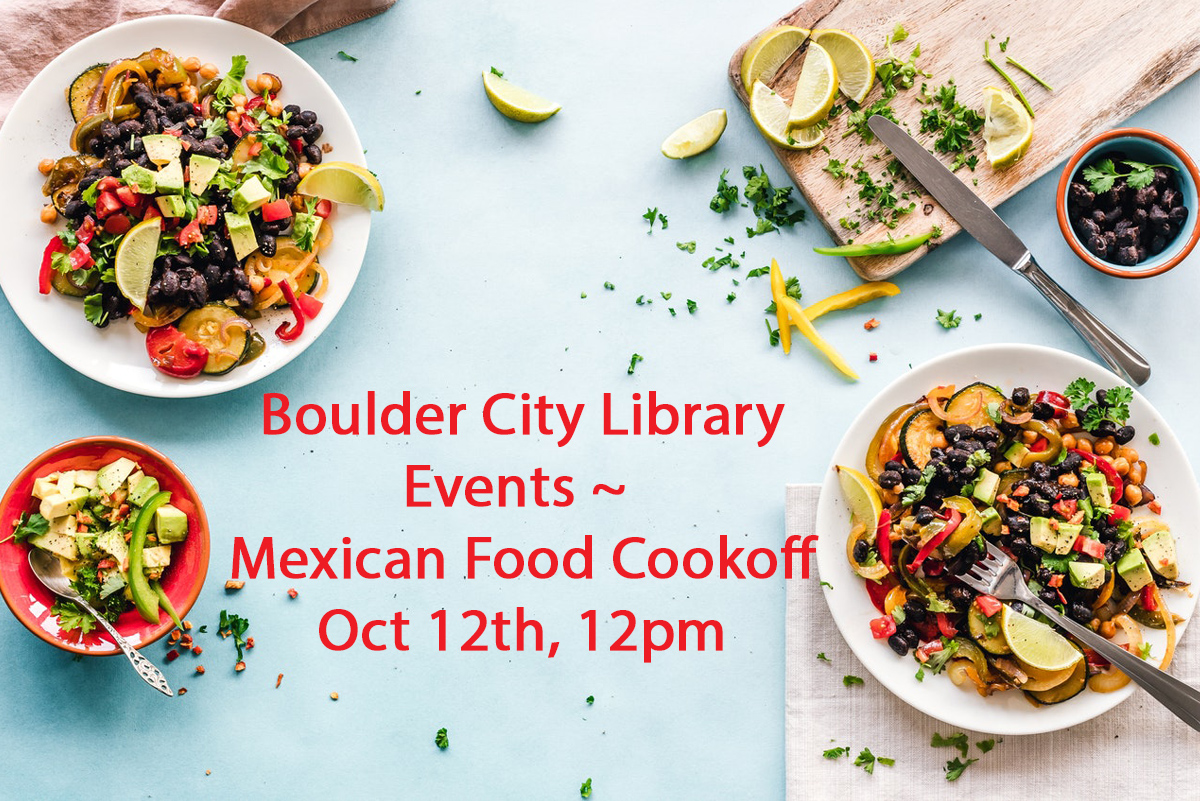 Library Oct Events Boulder City, NV