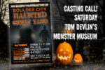 New Haunted House Casting Call Boulder City, NV