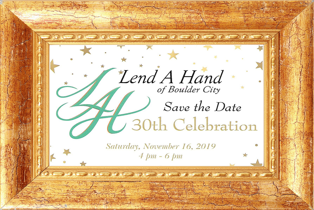 Lend A Hand Event Boulder City, Nevada