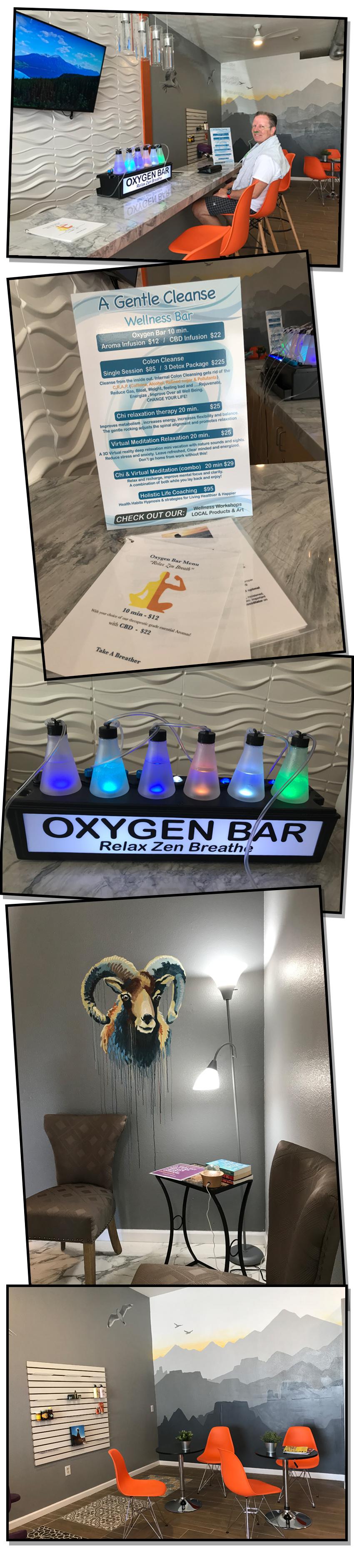 Oxygen Bar Collage Boulder City, Nevada