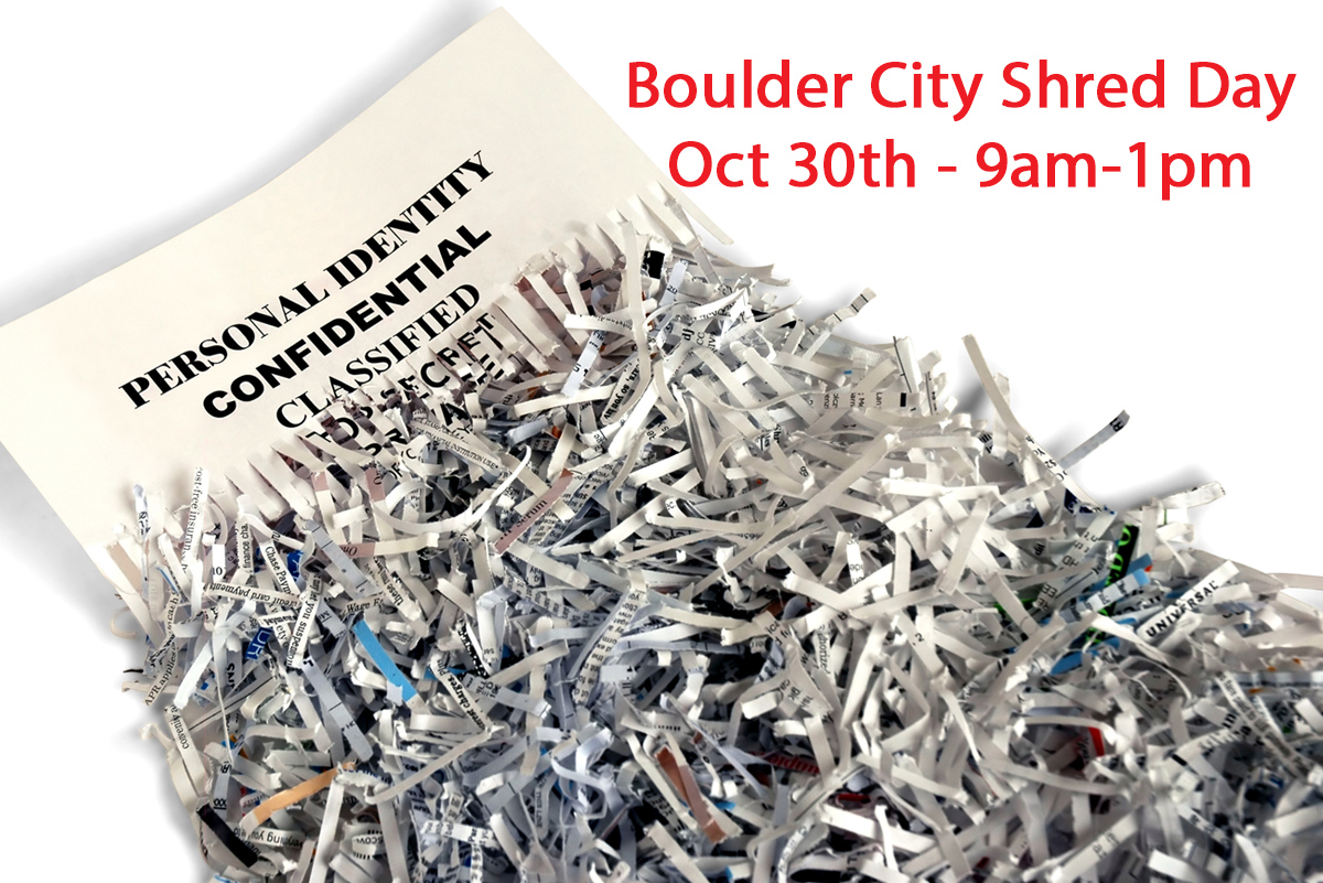 Shred Day Oct 30 Boulder City, Nevada