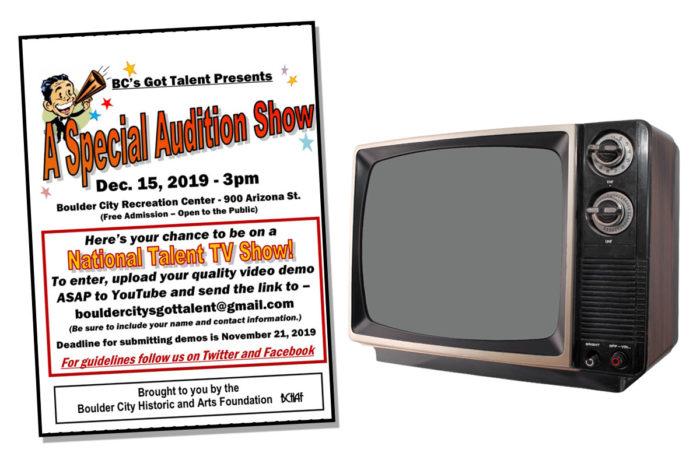 BC Talent Televised Show Boulder City, NV