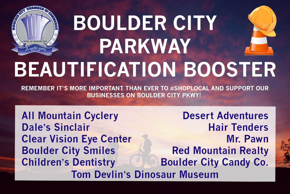 Chamber of Commerce Biz Booster Boulder City, Nevada