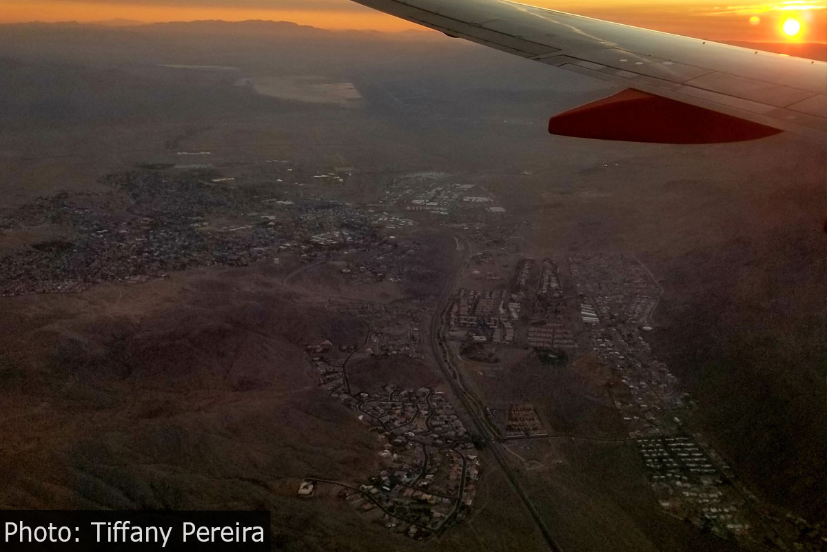 Fan Photo Flyover of Bou8lder City, Nevada