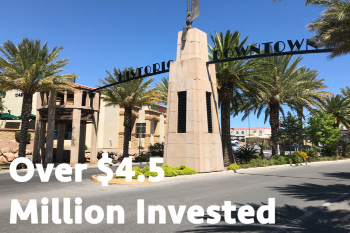 Over 4.5 Million Invested in Boulder City, Nevada