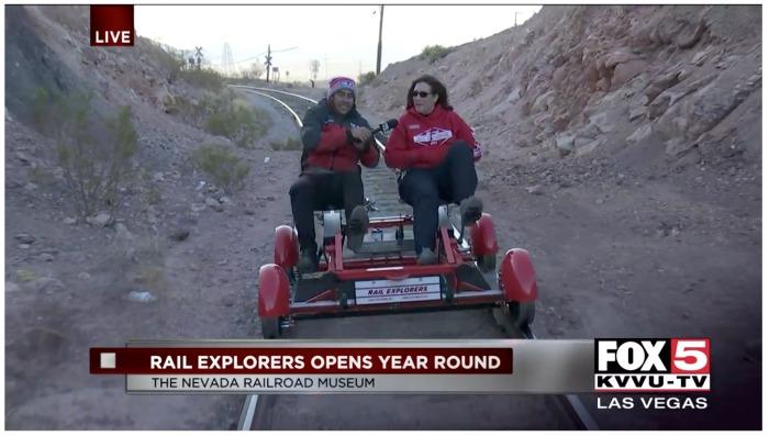 Rail Explorers Fox 5 Boulder City, Nevada