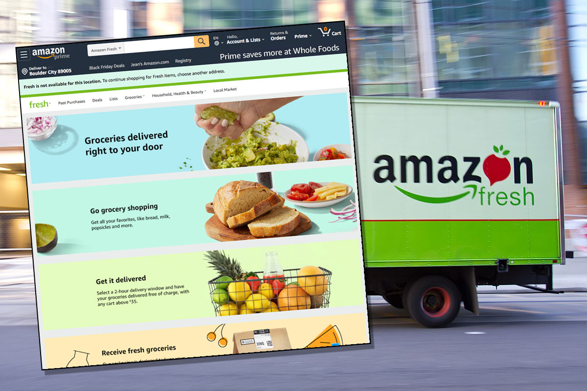 Request Amazon Fresh in Boulder City, NV