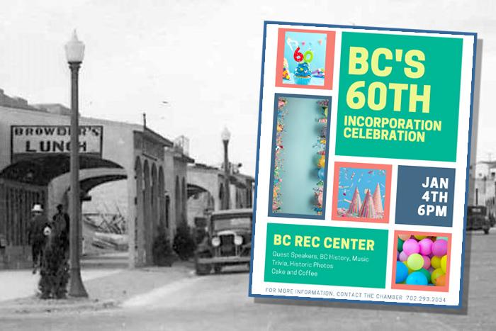 Boulder City, Nevada 60th Birthday