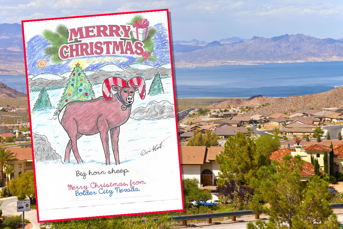 Boulder City, NV Christmas Card