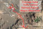 Frontage Road Traffic Detour Boulder City, NV
