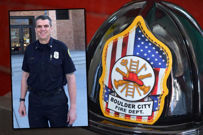 New Fire Chief William Gray Boulder City, NV