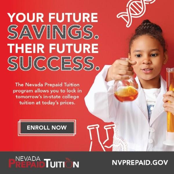 Prepaid Tuition Nevada Boulder City, NV