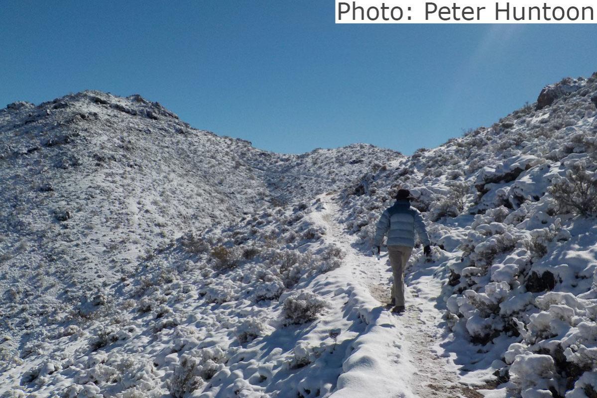 Fan Photo 1 Year Snow Peter Huntoon Boulder City, NV