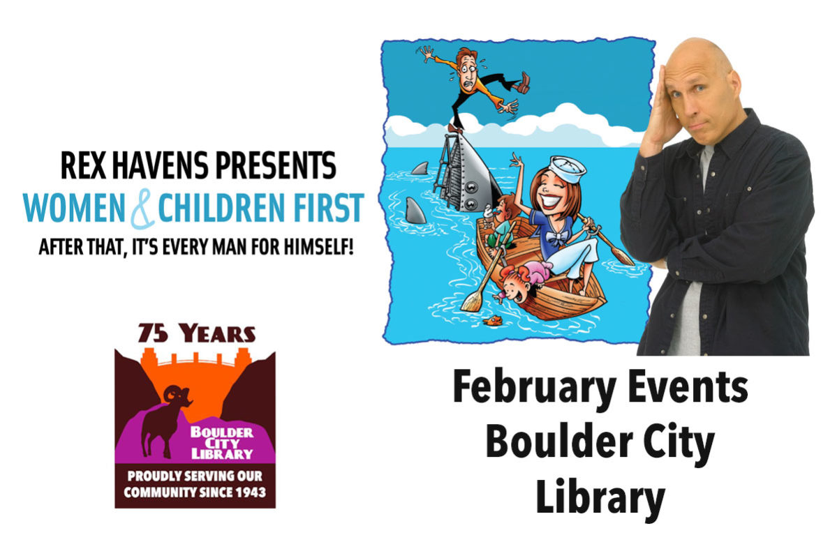 February Library Events Boulder City, NV