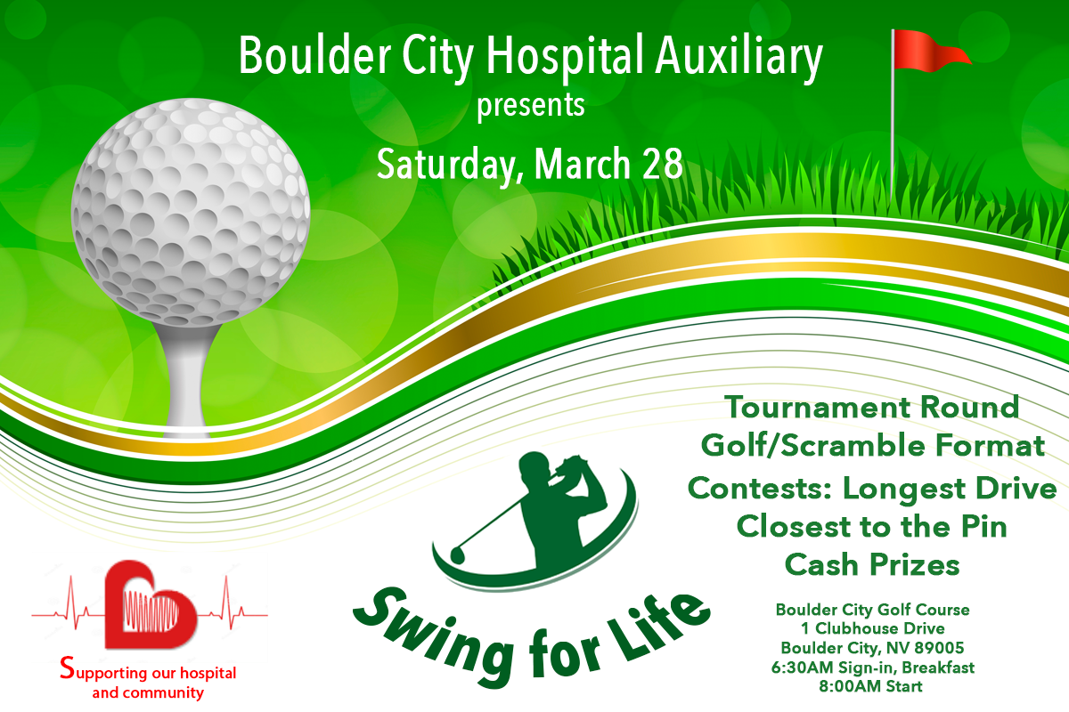 Golf Event Ad Boulder City