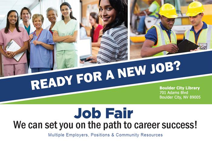 Job Fair Header Boulder City, Nevada