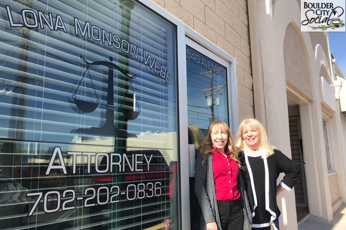 New Lawyer Lona Monson Webb