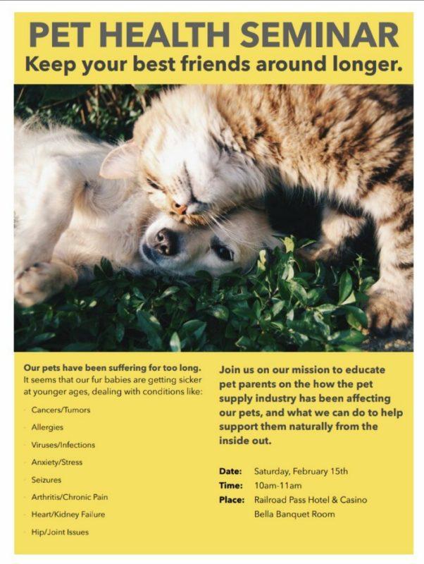 Pet Health Biz News Flyer Boulder City, NV