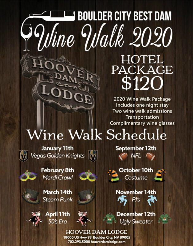 HDL Wine Walk Biz News Boulder City, NV