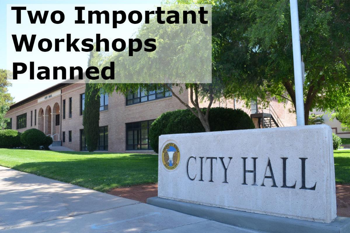 Workshops Planned Boulder City, Nevada