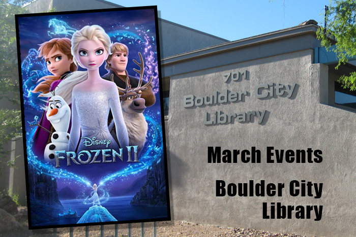 March Events Library Boulder City, Nevada
