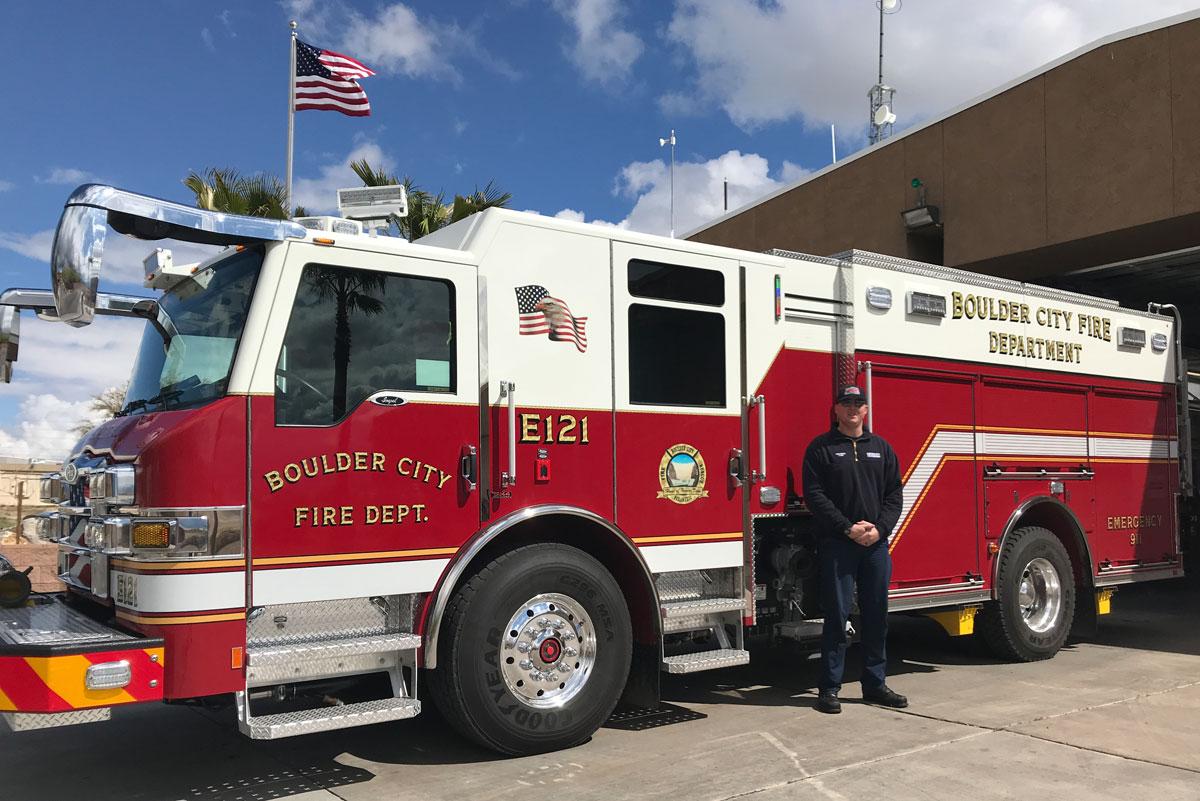 New Fire Engine Boulder City, Nevada