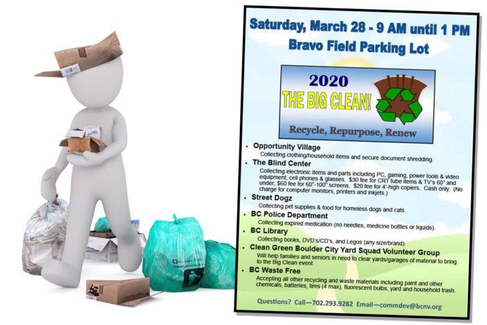 The Big Clean 2020 Boulder City, Nevada