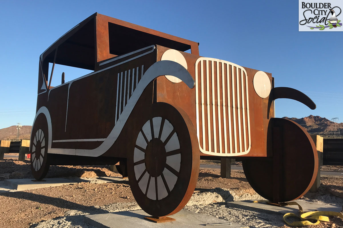 Car Sculpture Boulder City Pkwy