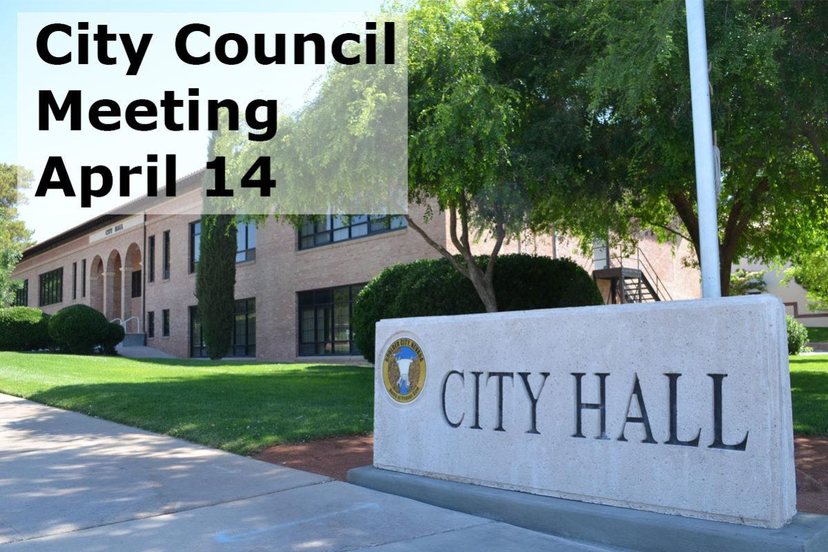City Counci lMeeting April 14 Boulder City, NV