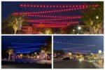 Bistro Lights Colors Boulder City, Nevada