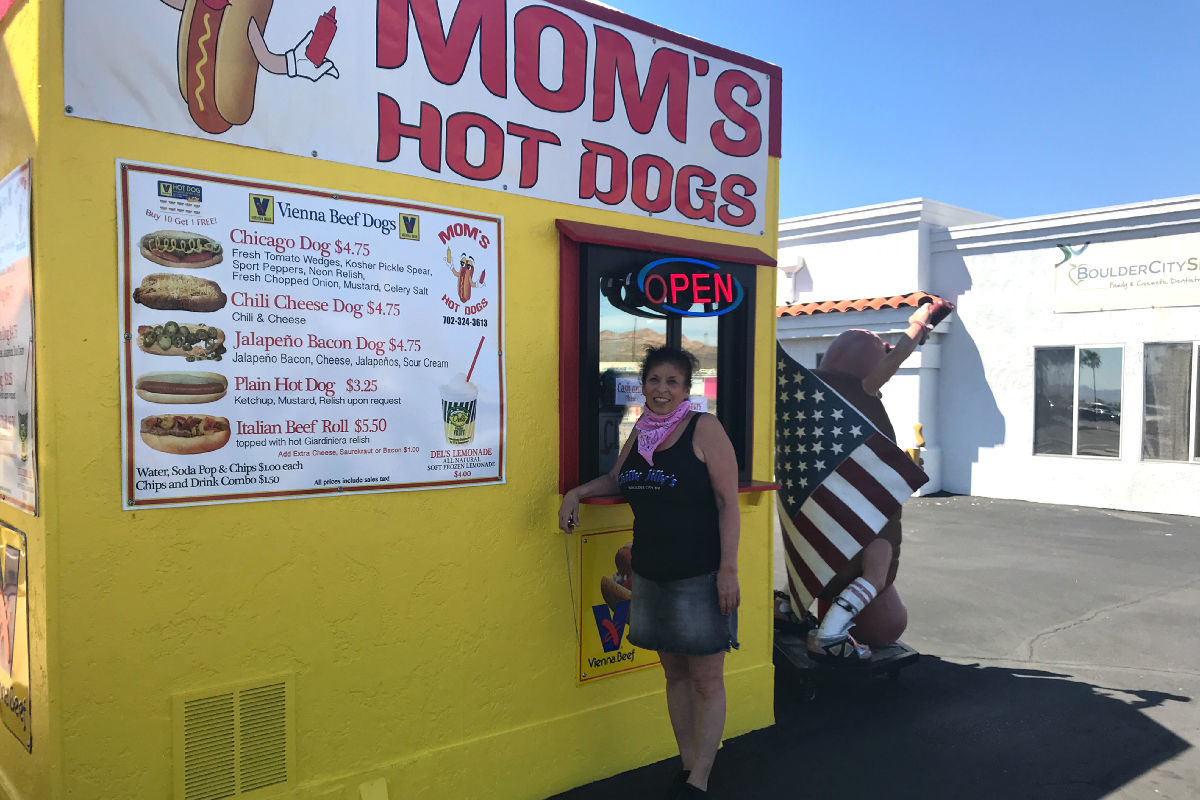 Moms Hot Dogs 5 Years Boulder City, Nevada