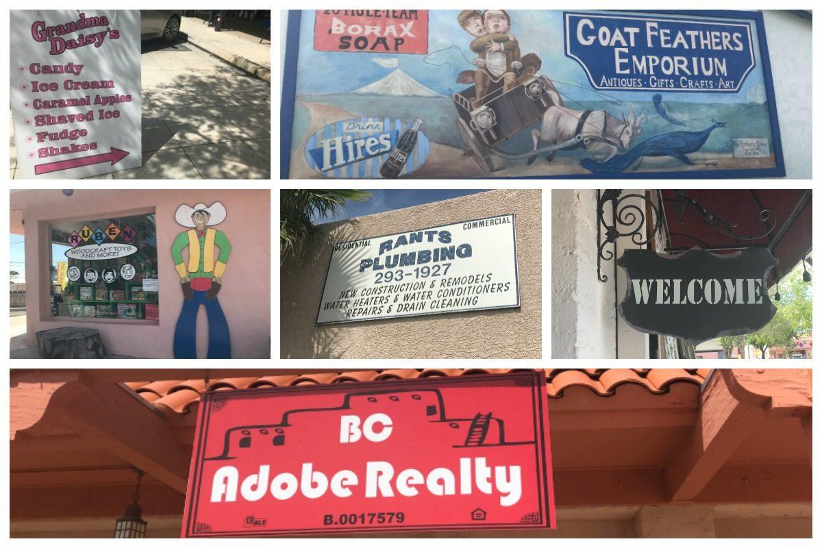 Collage Boulder City, Nevada
