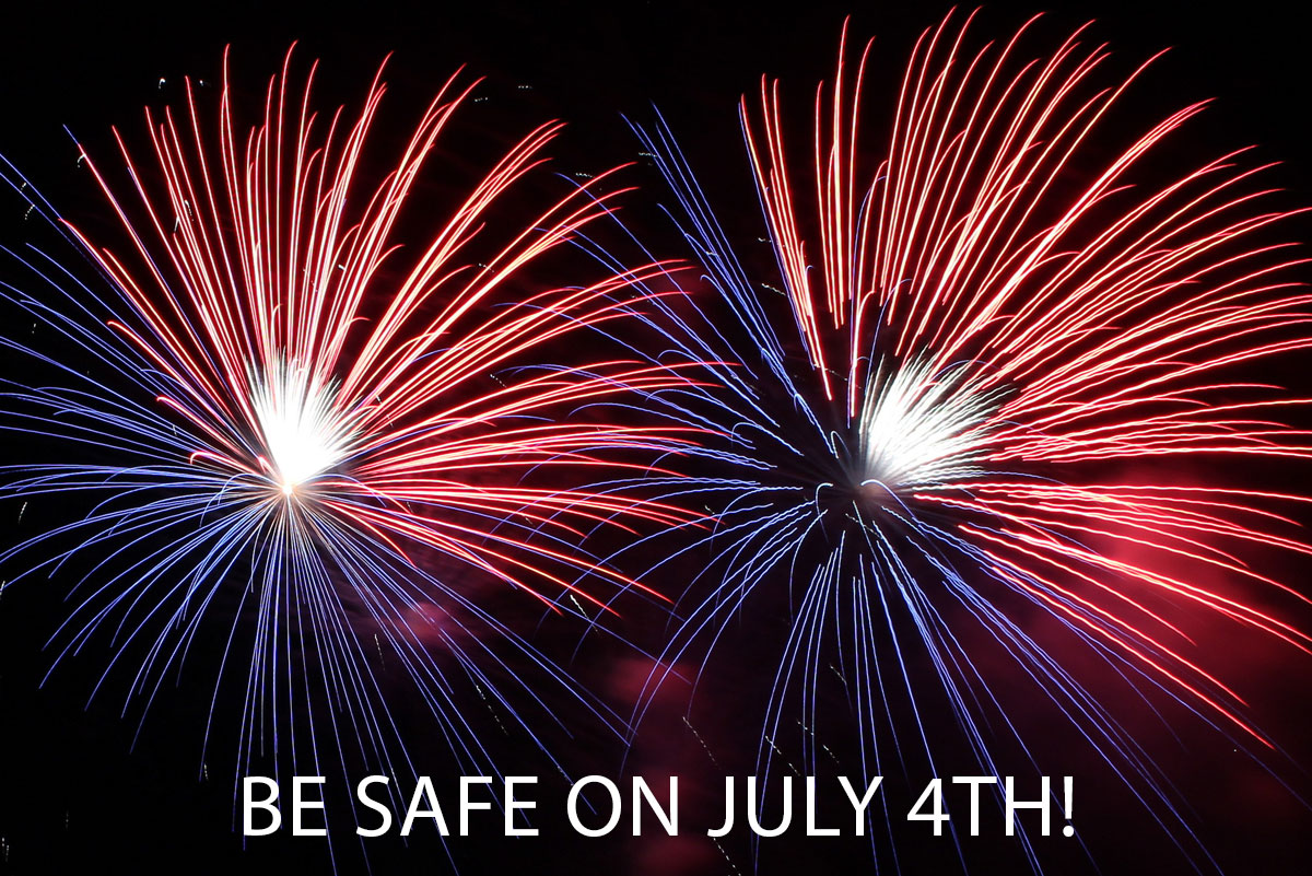 Be Safe July 4th Boulder City, Nevada