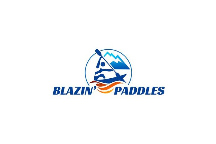 Blazin Paddles Job Board Logo