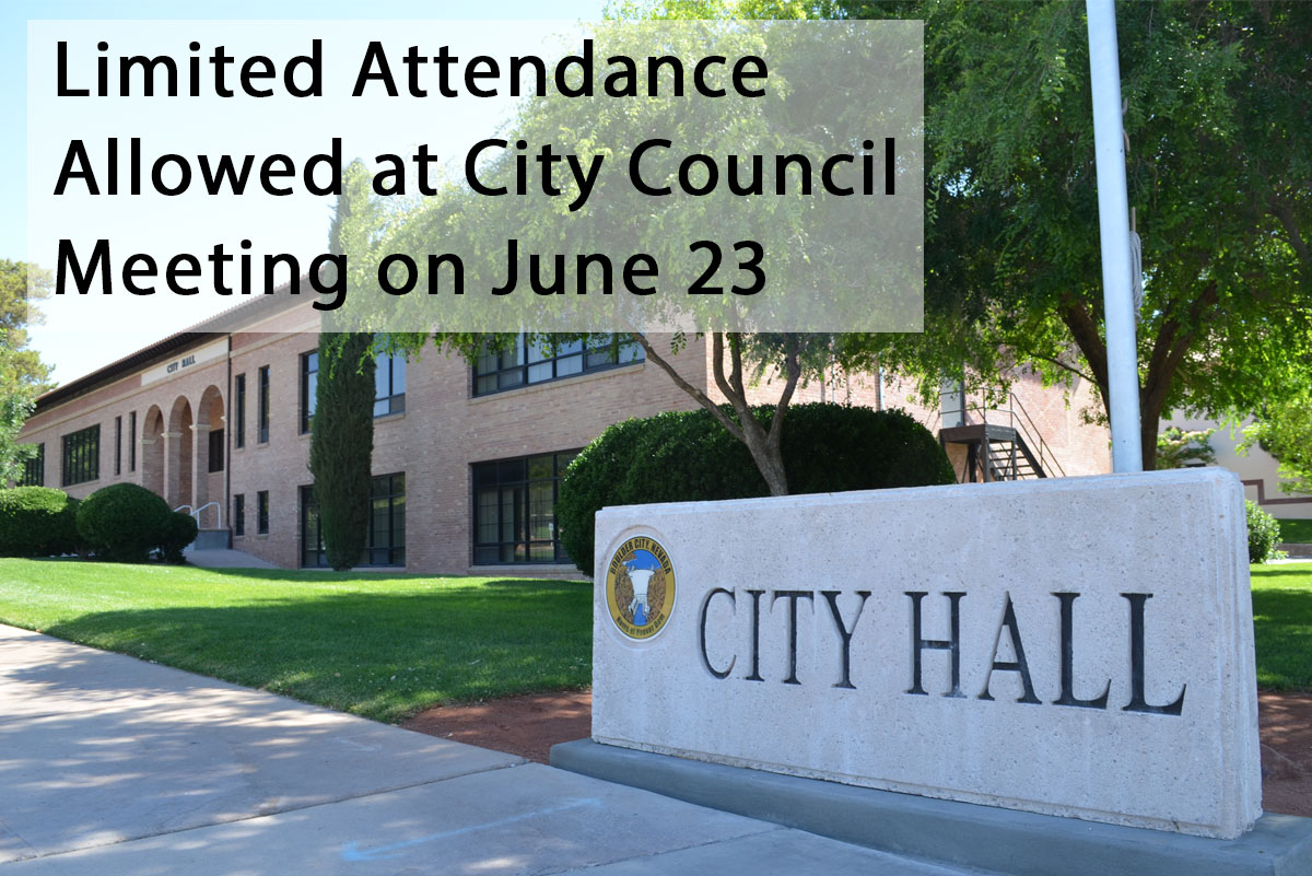 Measured Attendance City Council Boulder City, NV