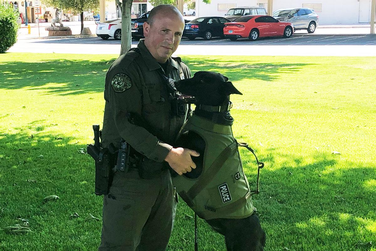 Officer And Luna Vest Boulder City, Nevada