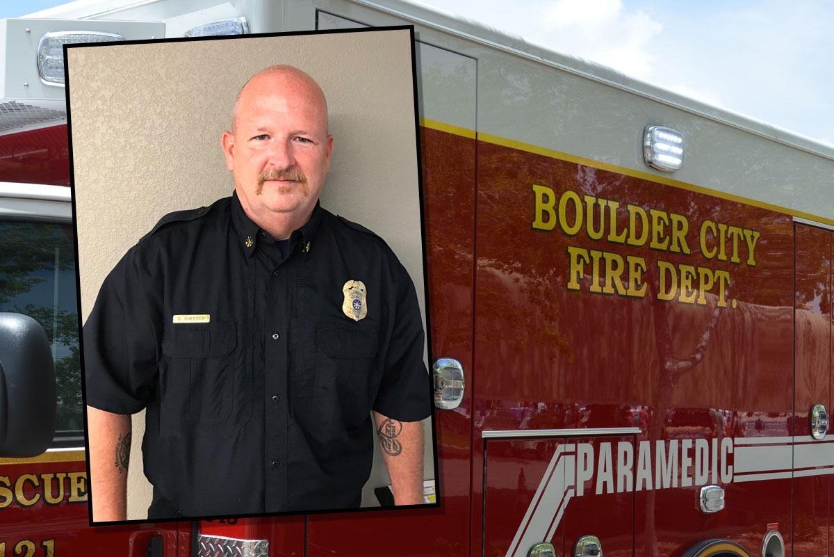 New Deputy Fire Chief Boulder City, Nevada
