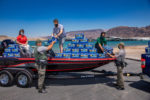 Bass Pro Shop Donates Bottled Water to Lake Mead Rangers Boulder City, NV