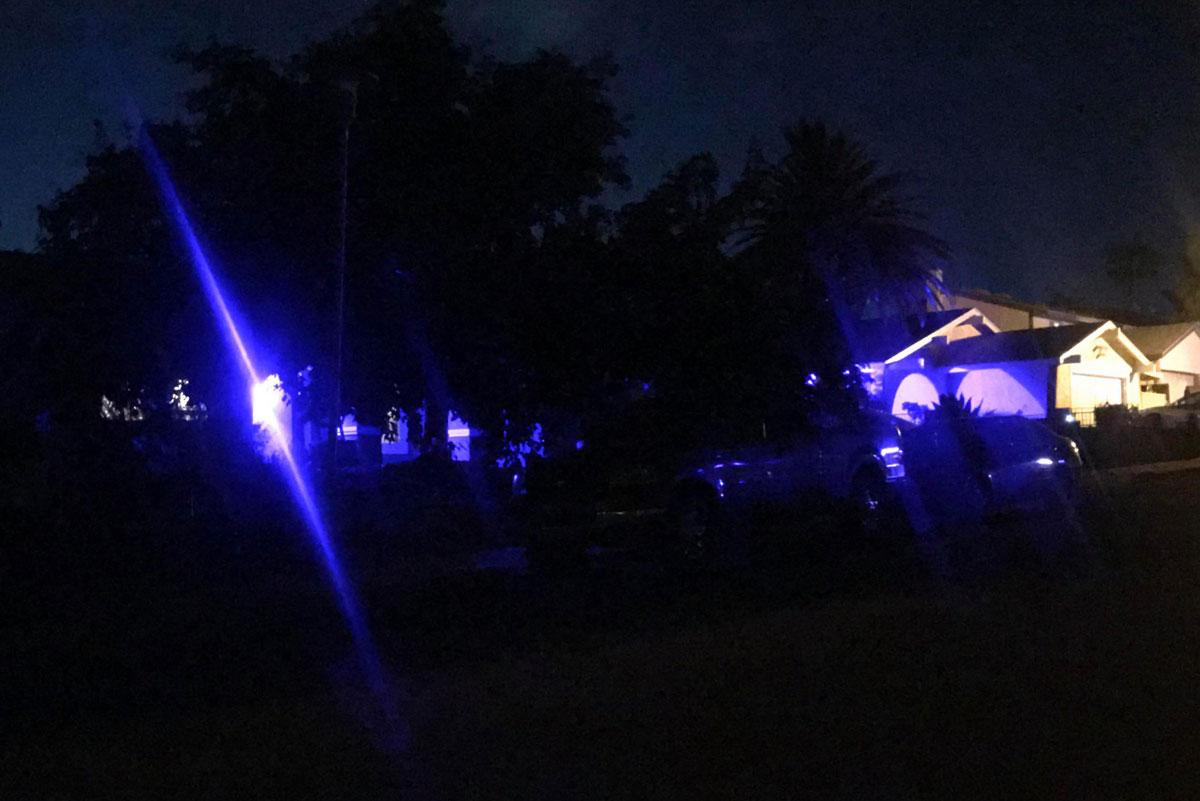 Blue Lights Dorothy Boulder City, Nevada