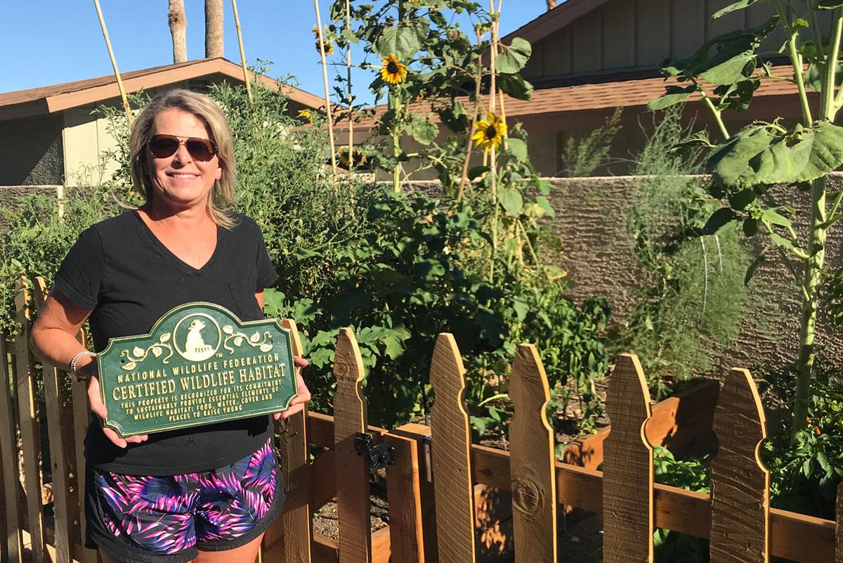 Gemmill Certified Wildlife Habitat Boulder City, Nevada