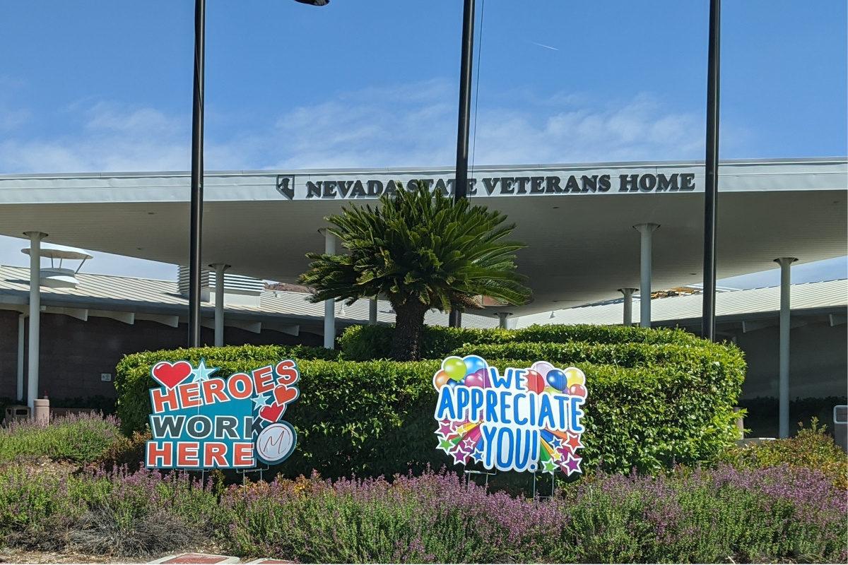 Veterans Home Drive-by Celebration Boulder City, NV