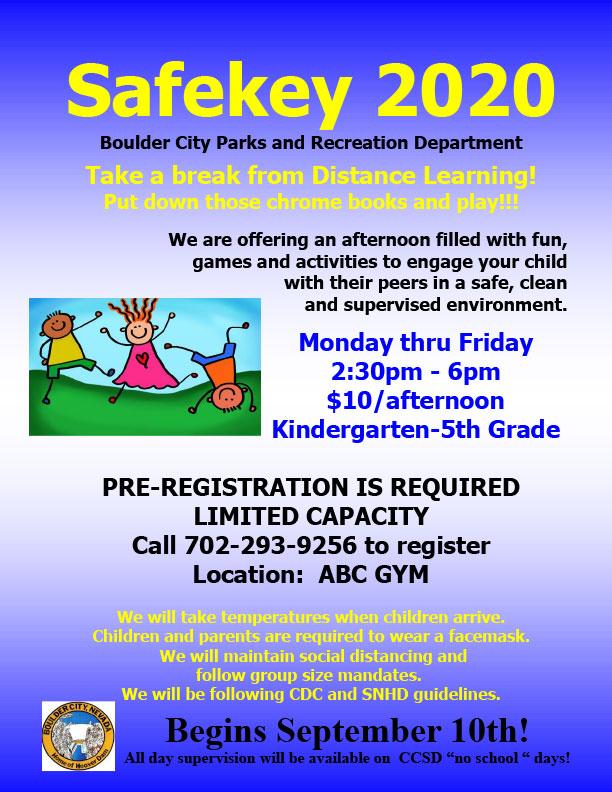 Safekey Flyer Boulder City, Nevada