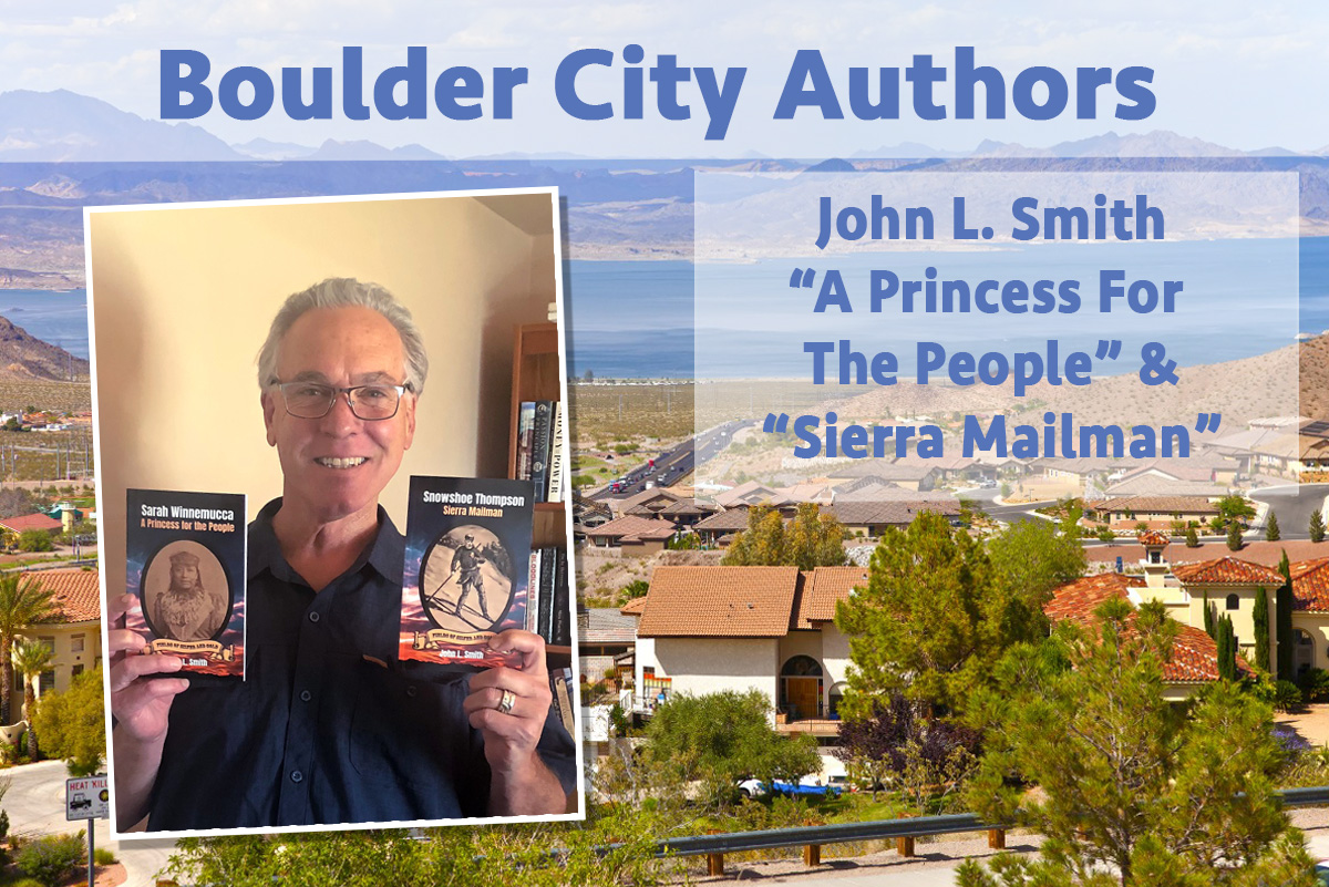 Local Author John L Smith Boulder City, Nevada