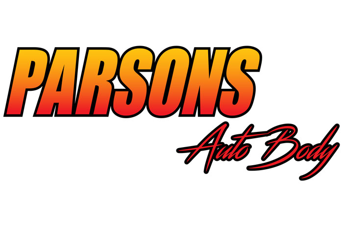 Parsons Auto Body Logo Boulder City, Nevada